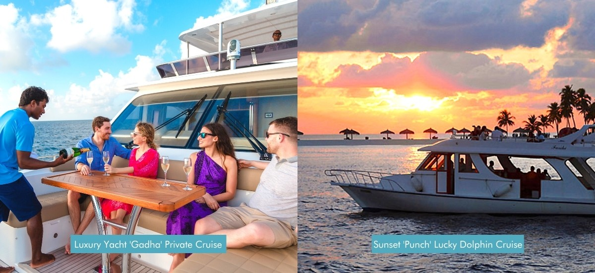 Top Maldives Private Yachting Excursions - Veligandu