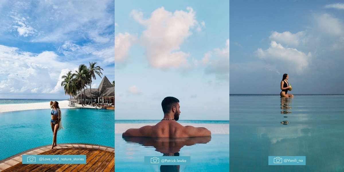 Veligandu Island Resort & Spa - Infinity Pool Maldives