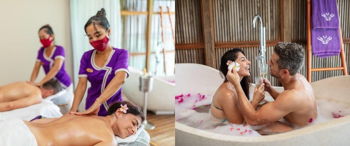 Couple's Spa Treatment at Duniye Spa - Veligandu Maldives