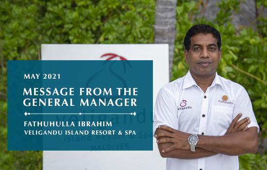 GM Message - Veligandu Island Resort & Spa