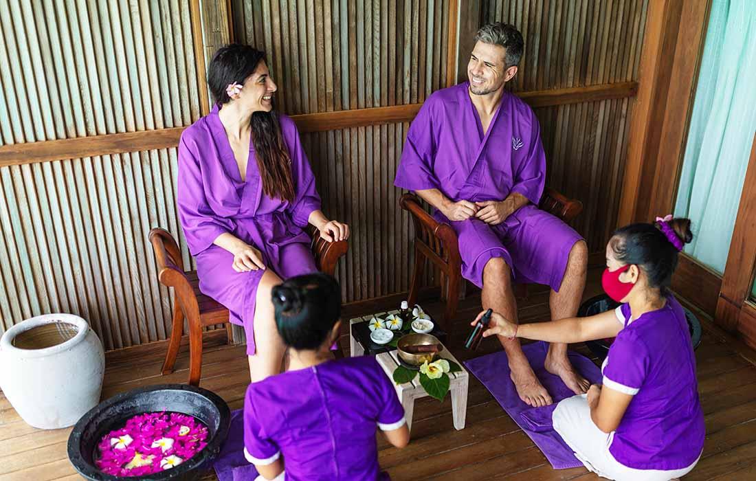 Spa Treatments Maldives - Veligandu Island