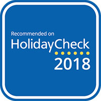 HolidayCheck Award, 2018