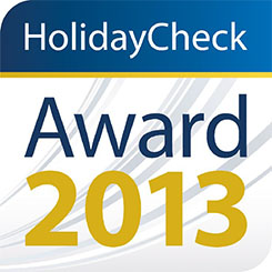 HolidayCheck Award, 2013, Germany