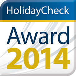 HolidayCheck Award, 2014, Germany