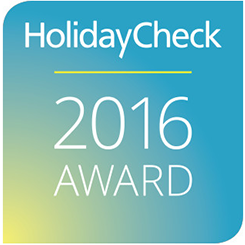 HolidayCheck Award, 2016, Germany