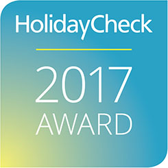 HolidayCheck Award, 2017, Germany