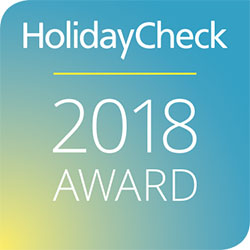 HolidayCheck Award, 2018, Germany