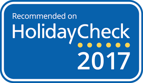 HolidayCheck Award, April 2017, Germany