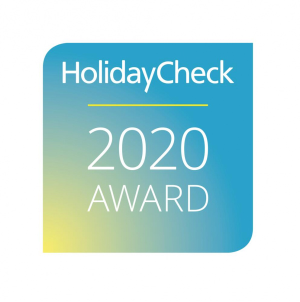 HolidayCheck Recommended Award, 2020