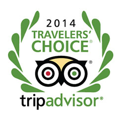 TripAdvisor Travelers' Choice Award, 2014, Worldwide