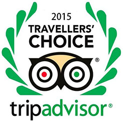 TripAdvisor Travelers' Choice Award, 2015, Worldwide