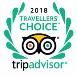TripAdvisor Travelers' Choice Award, 2018, Worldwide