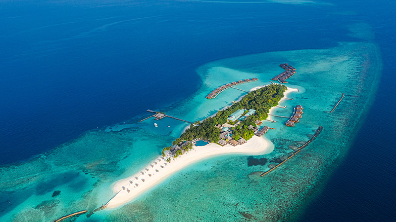 Map Of Veligandu Island Resort Spa Maldives Location