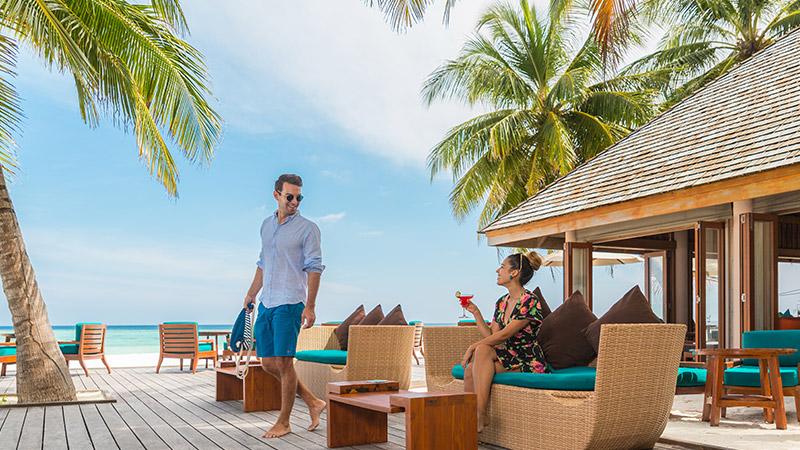 Restaurants In Maldives Dining At Veligandu Island Resort