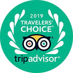 TripAdvisor Travelers' Choice Award, 2019, Worldwide